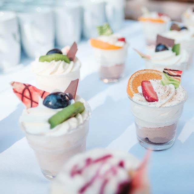 Event Catering Dessert – Frühauf Genuss