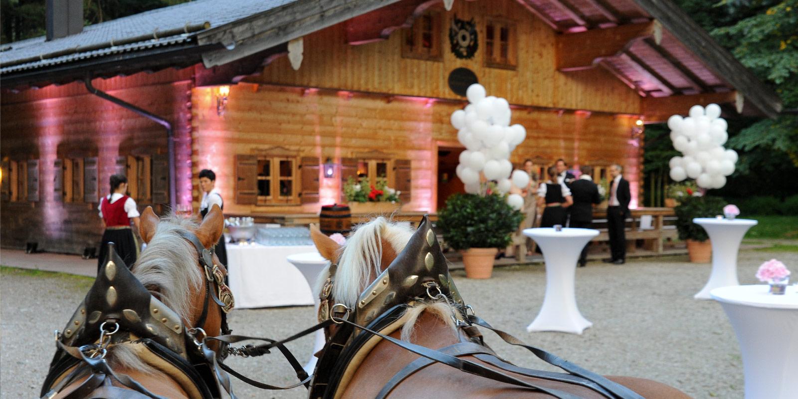 Hochzeit Gebirgsschützenhütte – Frühauf Genuss