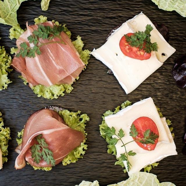 Event Catering Canapés – Frühauf Genuss