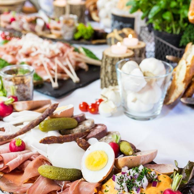 Event Catering bayrisches Buffet – Frühauf Genuss